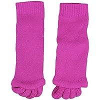 TOOGOO(R) Comfort-Massage-Zehe Alignment Socks - Stretch entlasten Schmerz ausrichten Zehen Separatoren-Rose preisvergleich bei billige-tabletten.eu