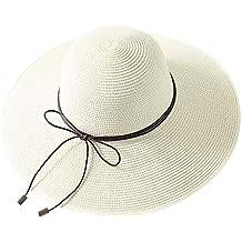 Dwevkeful Sombrero de Playa para Mujer fe897272daa