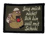 Jag mich nicht Bundeswehr Fun Patch mit Klett