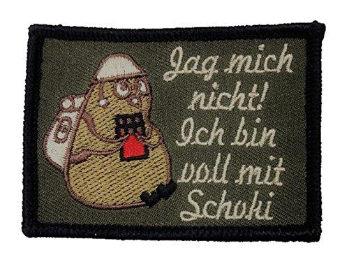 Café Viereck ® Bundeswehr Morale Patch Gestickt mit Klett - 7 cm x 5 cm