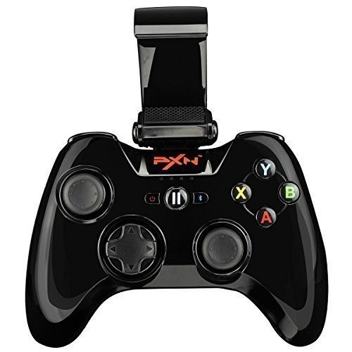 Price comparison product image Apple MFi Certified - PXN PXN-6603 Speedy Wireless Gamepad Game Controller Suit for iPhone7/7plus/ iPad/ iPod touch ios (Black)