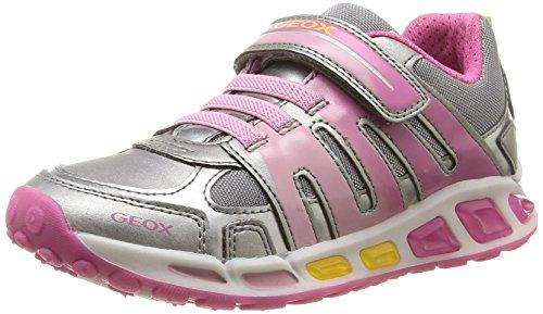 Geox Shuttle G C, Mädchen Sneakers Pink (c1275)