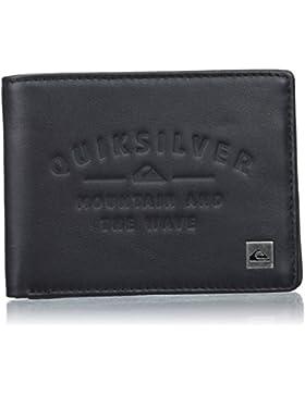 Quiksilver EQYAA03649 - Vintage - Cartera de Doble Hoja, marrón
