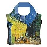 ecozz Cafe Terrace at Night - Vincent Van Gogh, faltbar, Einkaufstasche mit Reißverschluss,...