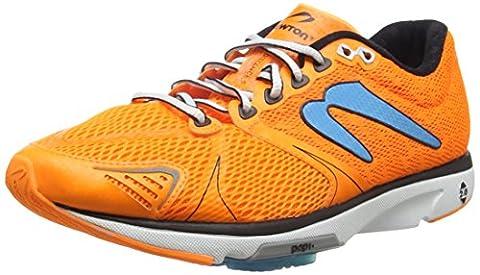 Newton Running Distance V Men's Training Running Shoes, Orange (Orange/Blue),
