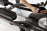MAXXUS CROSSTRAINER CX 7.4, Ellipsentrainer mit 5-fach Schrittlängenverstellung! Flache, elliptische Bewegung wie beim Laufen. Elektr. gesteuertes Magnetbremssystem, Trainingsprogramme, HRC-Programm, Schienensystem für sanften Lauf. Auf unterschiedliche Körpergrößen einstellbare Schrittlänge. - 4