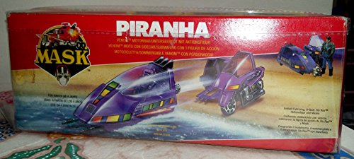 Piranha MASK vehicle toy