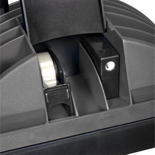 Herlitz 1601350 Big Butler V Schreibtischbox (Kunststoff mit Klebefilm/abroller, Anspitzer, Zettelhalter) 1 Stück anthrazit - 3