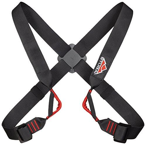 Stubai Sports - Utility, imbracatura toracica per arrampicata, 205 g, colore bianco