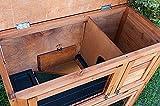 Kaninchenstall, Bunny Business doppelstöckig, ausziehbare Reinigungsschale, 4 Türen - 7