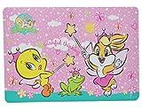 Unterlage - Baby Looney Tunes Tweety und Frosch - 43 cm * 29 cm - Tischunterla..
