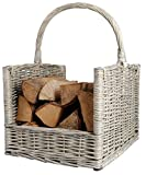 Fallen Fruits Wood Log Grey Basket
