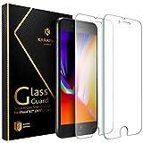 iPhone 8 7 Panzerglas Schutzfolie [2 Stück] Anker KARAPAX GlassGuard Glasfolie für iPhone 8/ iPhone 7 (4,7 Zoll) mit Double Defense Technologie aus gehärtetem Glas