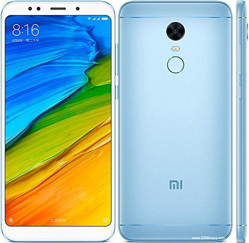 "Telefono Movil Xiaomi Redmi 5 Plus Azul 4g 5.9""-oc2.0-4gb-64"