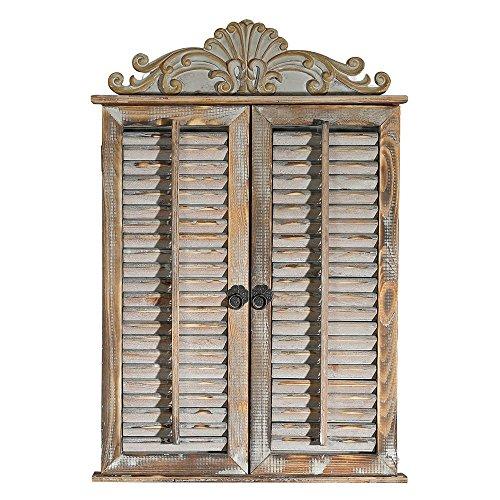 Nostalgie Spiegel Fensterläden Garderobenspiegel Ankleidespiegel Dielenspiegel