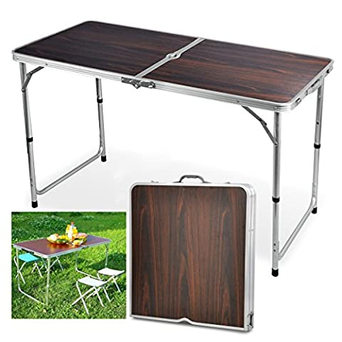 tinkertonk Aluminum Folding Table Portable Outdoor Picnic Camping Dining Party