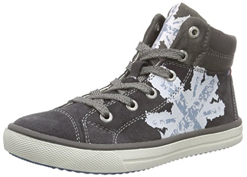Lurchi Spike Jungen Hohe Sneakers Grau (charcoal 45)