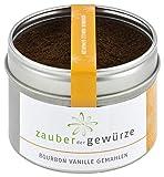 Zauber der Gewürze Bourbon-Vanille gemahlen, für Desserts und Gebäck, 50g