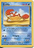 Pokemon fossiles Commun Carte # 51 krabby