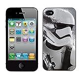 Star Wars Stormtrooper Cas adapte iphone 4et 4S Couverture Coque Rigide de...