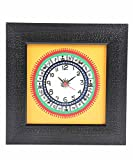 VarEesha Wooden Wall Clock Handpainted S...