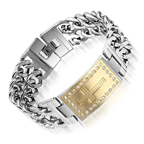 bracelet-a-breloques-aooaz-acier-inoxydable-hommes-or-argent-clip-sur-cross-cz-cristal-gourmette-23c