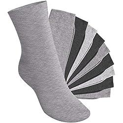 Footstar EVERYDAY! KIDS - 10 pares de calcetines - Classic Grey 27-30