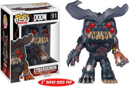Funko 7940 No Actionfigur Doom: Cyberdemon, 6 Zoll