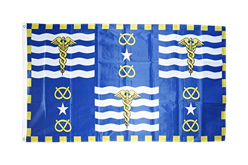 Fahne / Flagge Australien Stadt Brisbane + gratis Sticker, Flaggenfritze®