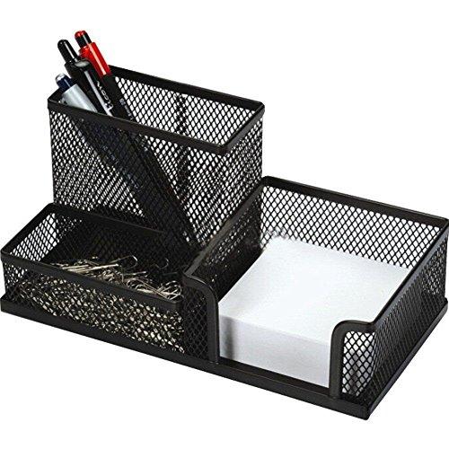 The earl®, portapenne da ufficio, organizer in rete metallica per materiale di cancelleria, del regno unito