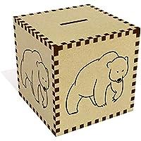 Preisvergleich für Azeeda Groß 'Bär' Sparbüchse / Spardose (MB00071786)