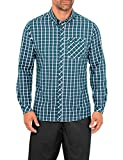 VAUDE Herren Hemd Heimer Long Sleeve Shirt, Dark Petrol, S, 04932