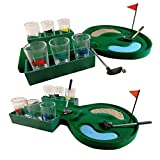 Best Golf Games - 19 Hole Mini Golf Drinking Game Glasses Shots Review