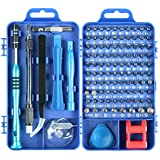 Eocean 110 in 1 Professional Screwdriver Multi-Function Magnetic Repair Tool Kit Compatible with iPhone/iPad/Android/Computer/Laptop/PC (Blue)