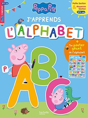 J'apprends l'alphabet avec Peppa (3-4 ans) par Collectif