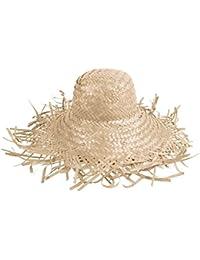 Chapeau de paille jardinier SH-21 Blanc chapeau de paille jardinier blanche SH-21