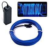 CHRONOS Electroluminescent EL Wire Lights | Portable DIY Neon Lights | 2AA Battery