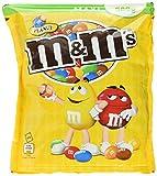 M&M'S Peanut / Knackige Erdnüsse umhüllt von Schokolade und bunter Zuckerglasur / Gefüllte Schokolinsen mit Nuss zum Knabbern / 4 x 500g Beutel -