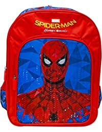 Marvel Spiderman Homecoming Classic 14' ' School Bag (Red, Blue, 20 L)