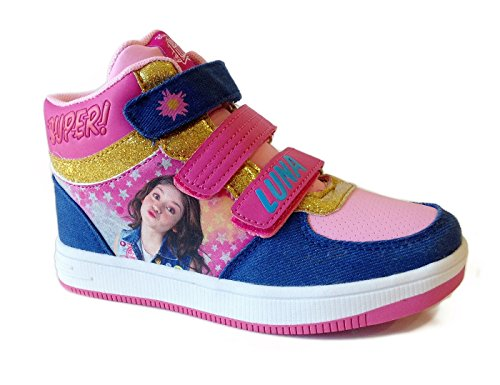 "Zapatillas Casual Media Bota ""Soy Luna"" Disney (30)"