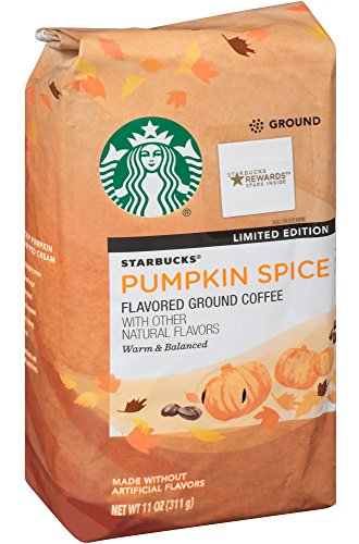 Starbucks Pumpkin Spice Flavored Ground Coffee (11 oz, 311g) 51vI4Gh2T 2BL