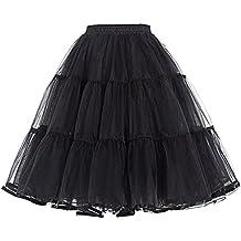 Belle Poque 50er Jahre Kleid Vintage Retro Reifrock Unterrock Petticoat in Mehreren Farben ZYB000177
