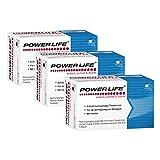 POWERLIFE (3-Monatspackung = 3 x 60 Kapseln) - Nahrungsergänzungsmittel mit Zink für Ihren Testosteronspiegel, Manneskraft, Fruchtbarkeit, Fertilität und Fortpflanzung | Nur 23 € pro Packung!