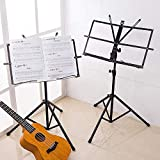 FGHGFCFFGH Foldable Small Music Stand Tripod Stand Holder Musical Instrument
