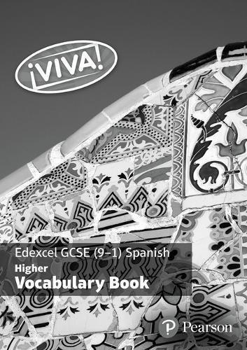 Viva! Edexcel GCSE Spanish Higher Vocab Book (pack of 8)