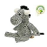 Stofftier Zebra - von STEINER - Kuscheltier handgefertigt in Deutschland