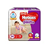 #5: Huggies Wonder Pants Medium Size Diapers (72 Count)