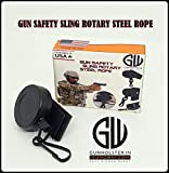#9: Safety & Survival Steel Sling Retractable Rotary Lanyard