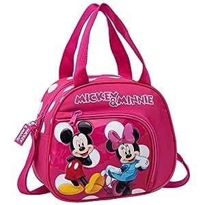 Disney Trousse de Toilette Minnie Y Mickey Vanity, 23 cm, 4,37 L, Rose