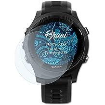 Bruni Garmin Forerunner 935 Film Protecteur - 2 x cristal clair Film Protection d'écran Protecteur d'écran